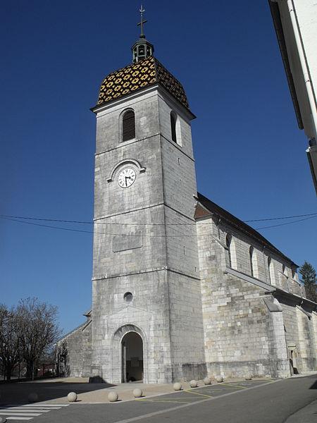 Église Sainte-Agathe de Vercel, Vercel-Villedieu-le-Camp, Doubs, France