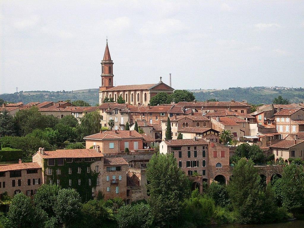 Церковь Сен-Мадлен ( L'église de la Madeleine)