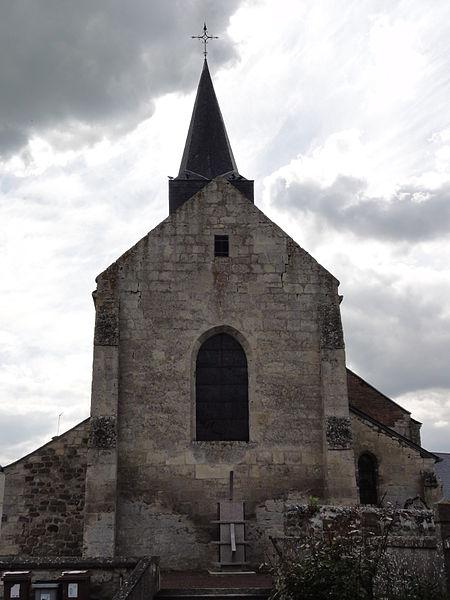 Étouvelles (Aisne) Église Saint-Martin