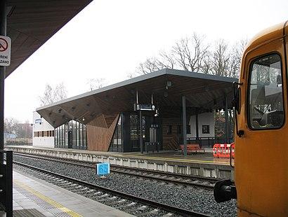 How to get to Česká Lípa, Hlavní Nádraží with public transit - About the place