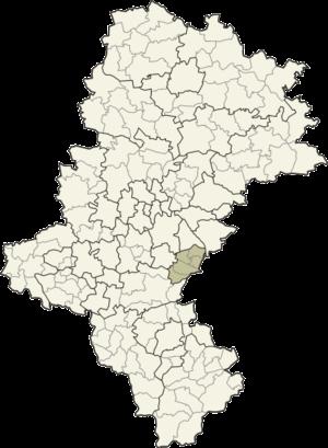 Bieruń-Lędziny County - Image: Śląskie bieruńsko lędziński