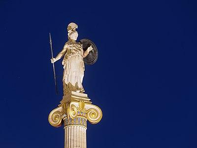Statue of Athena, Academy of Athens