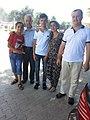 Ахмадов Мирзохабиб вместе с семьей старшего сына - г. Худжанд, гостиница Эхсон, 2017г.jpg