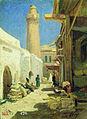 Баку. Улица в полдень. 1861.jpg