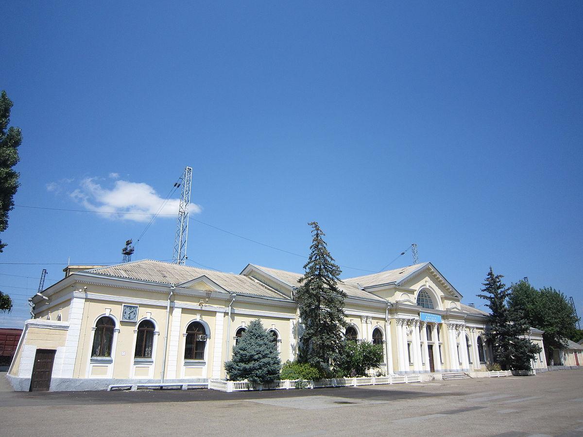 Железнодорожный вокзал станции армавир-1-ростовский в городе армавир