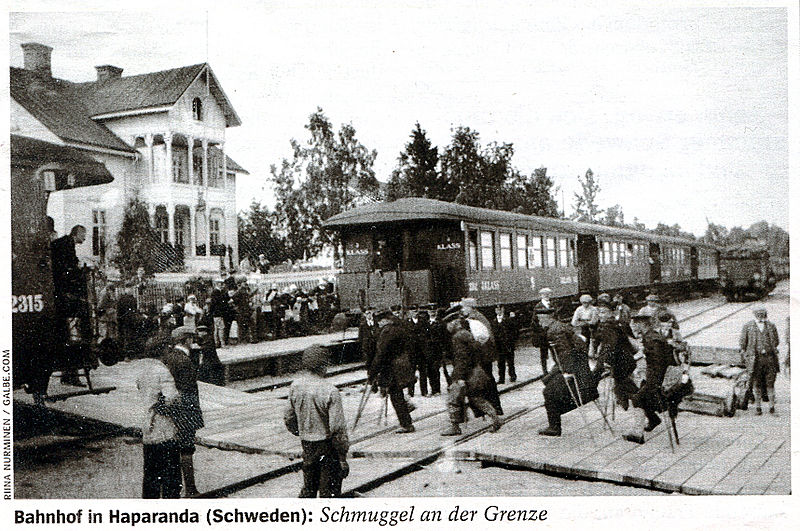 Файл:Вокзал в Хапаранде.jpg