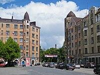Лењинов трг у Виборгу