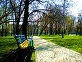 Дарожка і лаўкі - panoramio.jpg