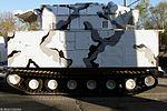 ЗРК 9К331МДТ Тор-М2ДТ на базе двухзвенного гусеничного транспортера ДТ-30ПМ - Тренировка к Параде Победы 2017 08.jpg