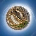 Заповідник Крейдова флора, повна сферична панорама з висоти 150 метрiв.jpg