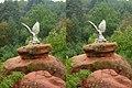 Кисловодск. Орел - символ КМВ (X-3D stereo). 22-09-2010г. - panoramio.jpg