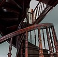Марьино Дворец Интерьер Винтовая лестница (фото 2) Рыльский район 2019.jpg
