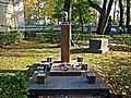Санкт-Петербург, Тихвинское кладбище, могила А.К. Глазунова.JPG