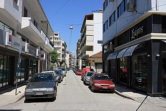 Karditsa - Street in Karditsa