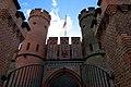 Фридрихсбургские ворота из внутреннего двора.JPG