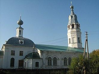 Beryozovsky District, Perm Krai - Church of the Ascension, Beryozovsky District