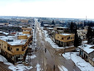 Town in Daraa Governorate, Syria
