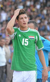Dhurgham Ismail Iraqi footballer
