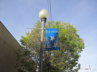 Big Spring, Texas - Big Spring decorative sign