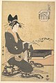六玉川 扇屋内 花扇-The Oiran Hanaogi of Ogiya MET DP141301.jpg