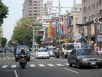 Beitun District - Image: 崇德路二段