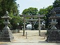 広陵町三吉(斉音寺) 記三上神社 2012.6.07 - panoramio.jpg