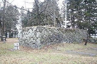 Japanese castle in Iiyama, Nagano prefecture