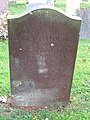 -2019-11-17 Headstone of Elizabeth Holmes, died April 24 1814, aged 38, Trimingham churchyard.JPG