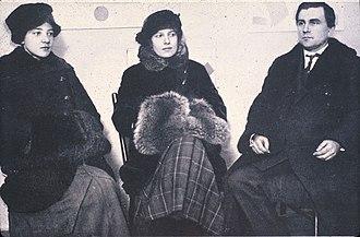 0,10 Exhibition - Rozanova, Boguslavskaya and Malevich on the exhibition