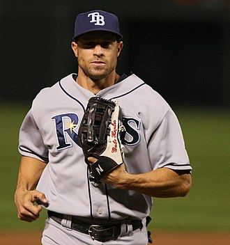 Gabe Kapler - Kapler with the Tampa Bay Rays