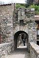 010 Pont Nou, antic portal de Cerdanya, cara oest (Camprodon).JPG