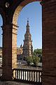 017-Torre Sur-Edificio de la Antigua Capitanía General-Sevilla(RI-51-0003936).jpg