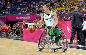 Cobi Crispin - Crispin at the 2012 London Paralympics