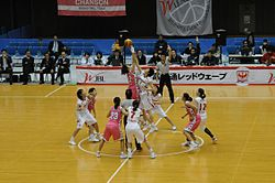 WJBL 08-09 Regular League, Fujitsu vs Chanson