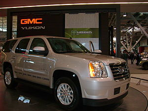 Hybrid vehicle - 2008 GMC Yukon hybrid version