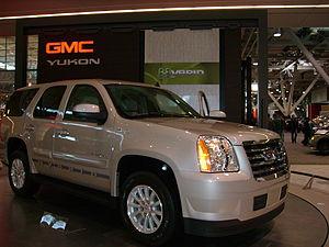 Hybrid vehicle - 2008 GMC Yukon hybrid version