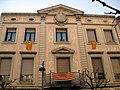 090 Edifici de la Caixa (Arbúcies), detall.jpg