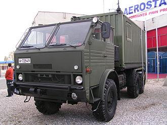 DAC (vehicle manufacturer) - DAC shelter carrier