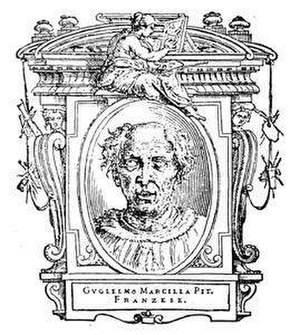 Guillaume de Marcillat - depiction of Guillaume de Marcillat, part of Giorgio Vasari's Le Vite
