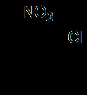 2-Nitrochlorobenzene - Image: 1 chloor 2 nitrobenzeen