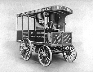 Leyland Trucks - 1st Truck built at Leyland 1896