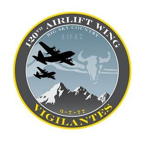 120th Airlift Wing - Image: 120th Airlift Wing Vigilantes patch