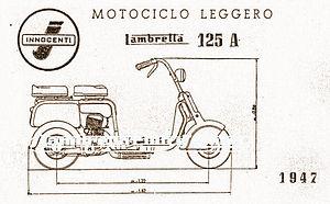 Lambretta - Image: 125 Al