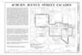 126-255 Auburn Avenue (Commercial Buildings), Auburn Avenue, Atlanta, Fulton County, GA HABS GA,61-ATLA,1C- (sheet 1 of 18).png