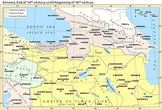 Timur's invasions of Georgia - The Caucasus, c. 1378–1502.