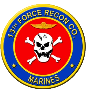3rd Force Reconnaissance Company - 13th Force Recon seal.