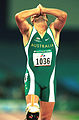 141100 - Athletics track Neil Fuller celebrates - 3b - 2000 Sydney race photo.jpg