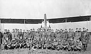 166th Aero Squadron - Men and DH-4