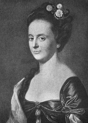 Joseph Barrell (merchant) - Portrait of Anna Pierce (wife of Barrell), 1766, by J.S. Copley