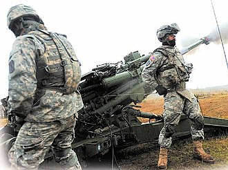 Joint Base Lewis–McChord - Artillery Brigade training at JBLM Lewis Main